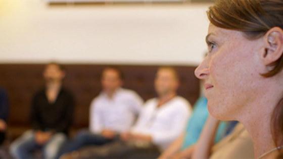 Foto tijdens de cursus in Utrecht