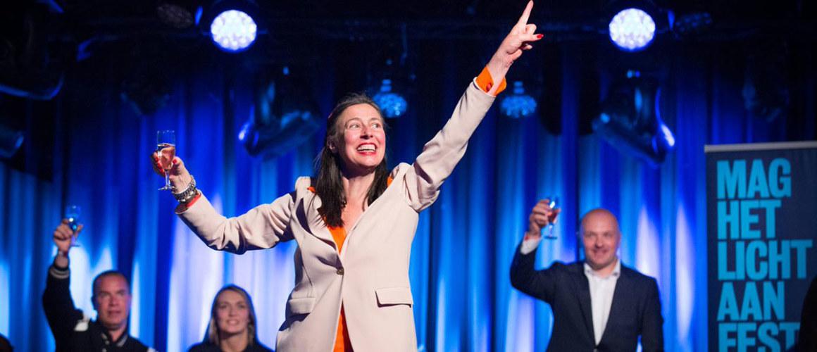 Adelheid Roosen wint de Van Praagprijs in 2015