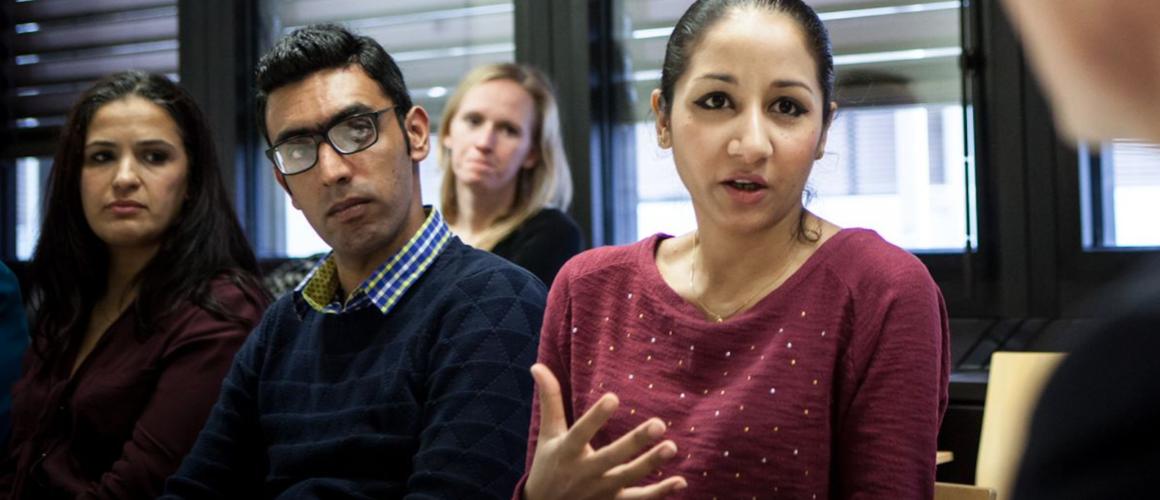 Aanbieding van het Freedom of Thought-report aan de Mensenrechtenambassadeur in Den Haag