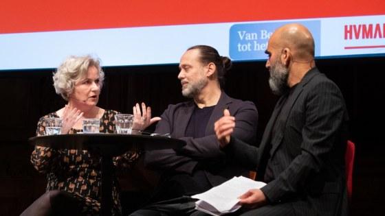 Carin Gamers en Hugo Borst Socrateslezing