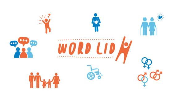 Word lid banner