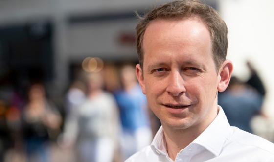 Arnout Hoekstra, lijsttrekker SP Europese Verkiezingen