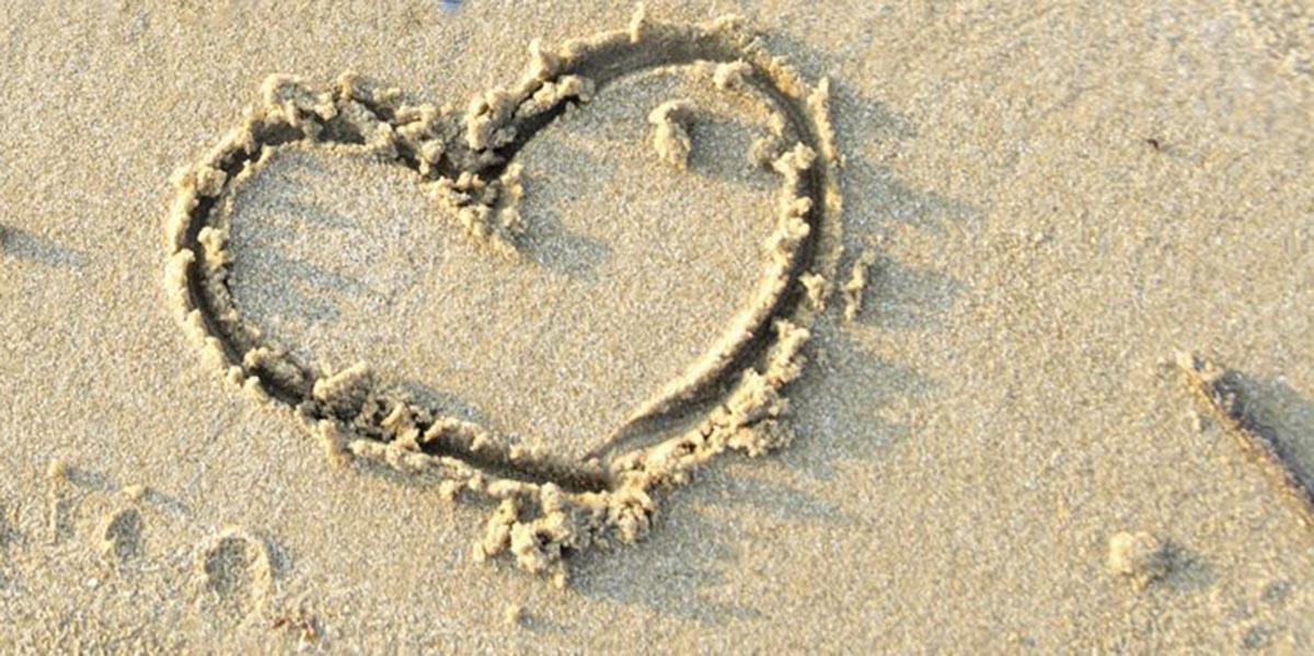 Hart in het zand, grote giften