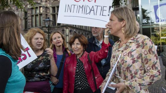 actie Den Haag 11 juni
