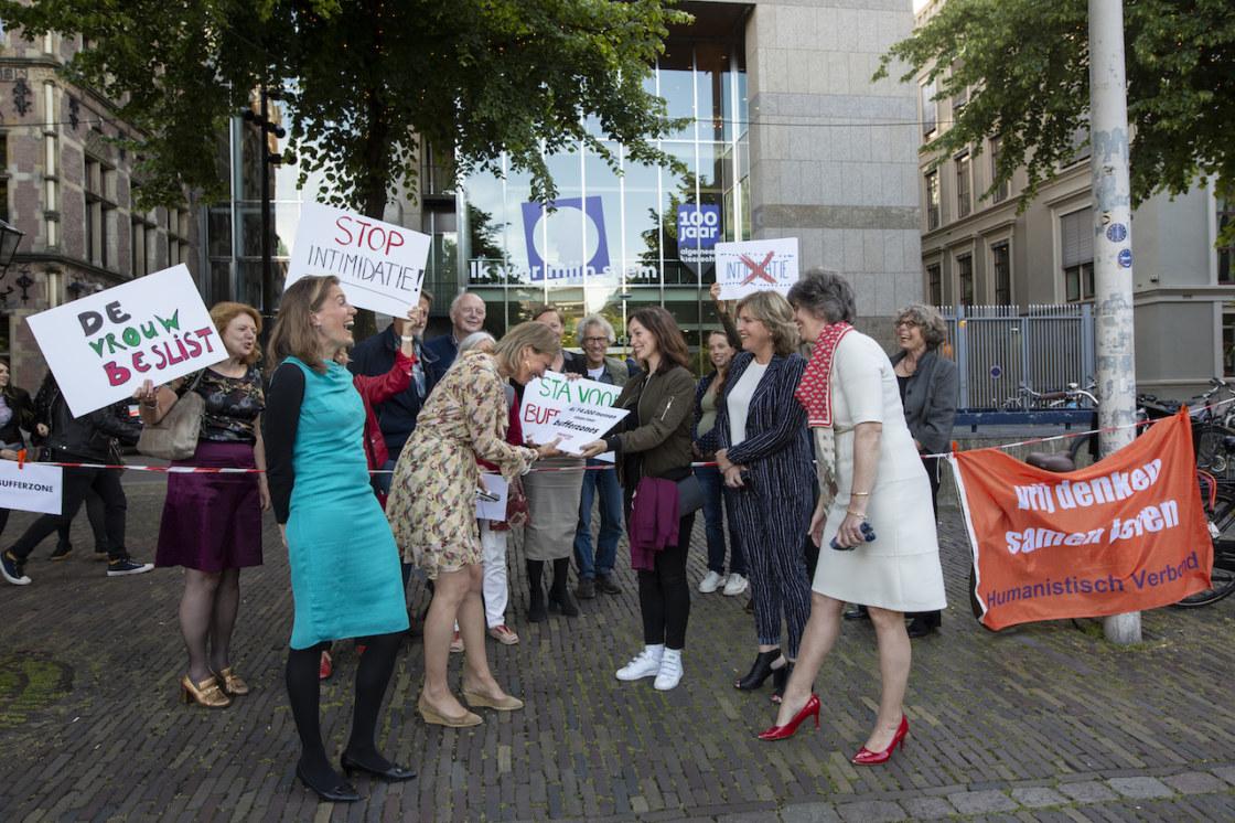 actie Den Haag 11 juni 2019
