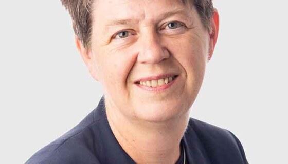 Wilma van Zoomeren, docent en regiobegeleider Zuid- Oost bij Humanistisch Vormingsonderwijs en inspirator bij Wat zou jij doen? on tour 2019, in Oirsbeek, Limburg
