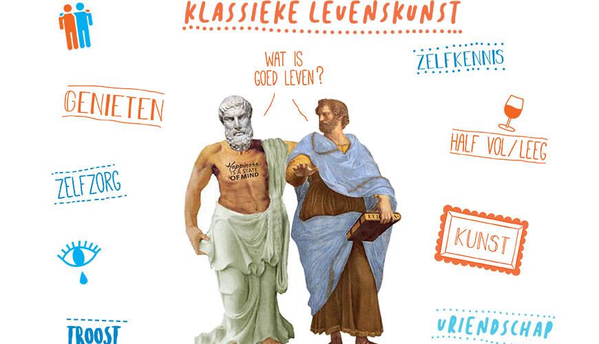 Beeld online cursus filosofie Klassieke Levenskunst 2021