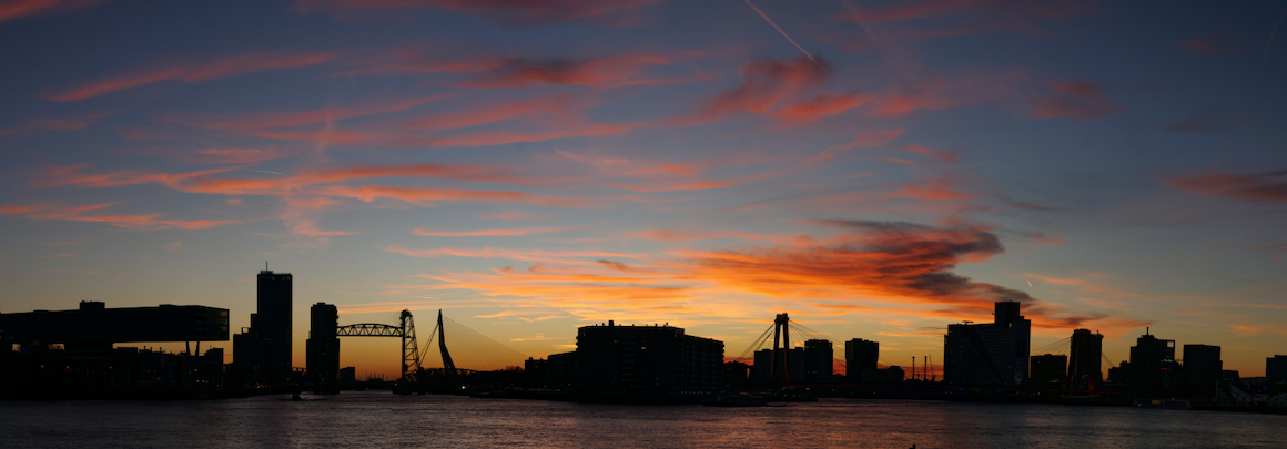 Rotterdam skyline schemer