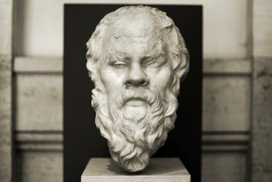Socrates, beeld bij cursus Socratisch gesprek