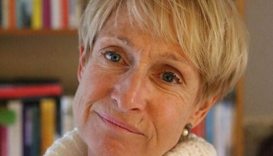 Heleen Weber, kinderfilosoof bij de tour in Enschede