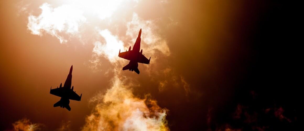 vliegtuig – sunset – pixabay