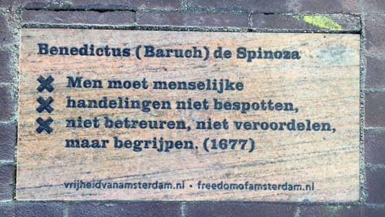 Tegel Spinoza