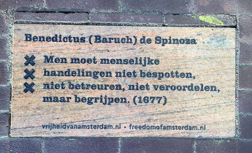 Tegel Spinoza