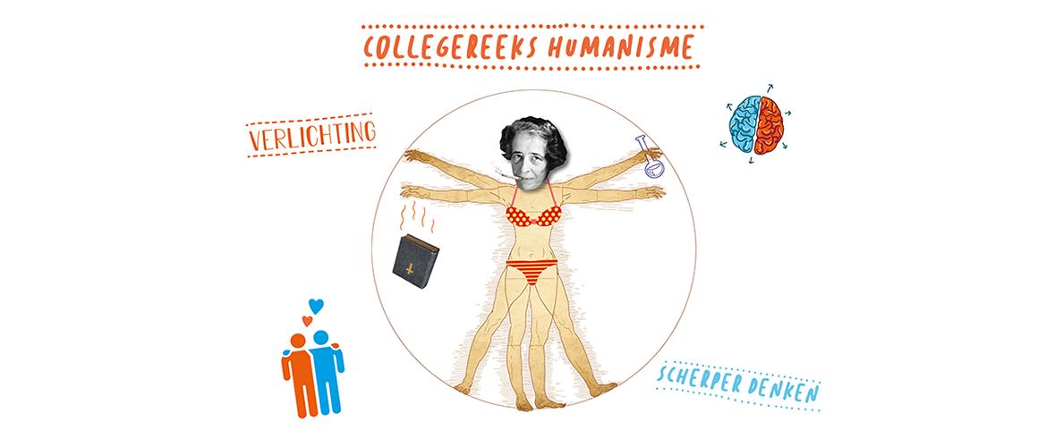 Beeld Collegereeks Humanisme Hannah Arendt
