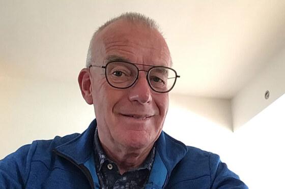 Loek Punt, voorzitter Alzheimer Nederland, afdeling Friesland