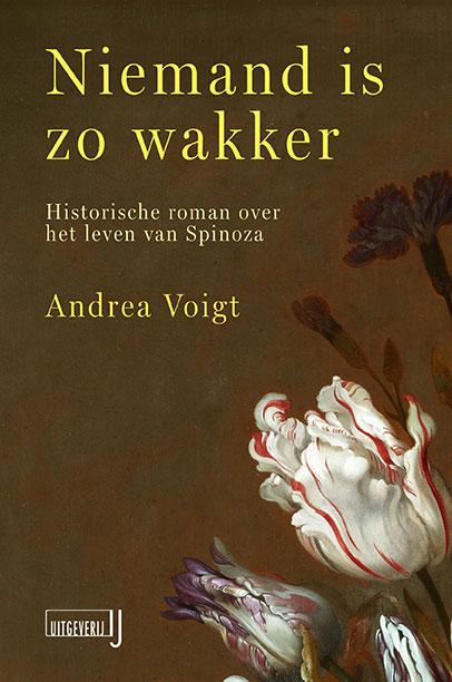Omslag boek 'Niemand is zo wakker' - Andrea Voigt
