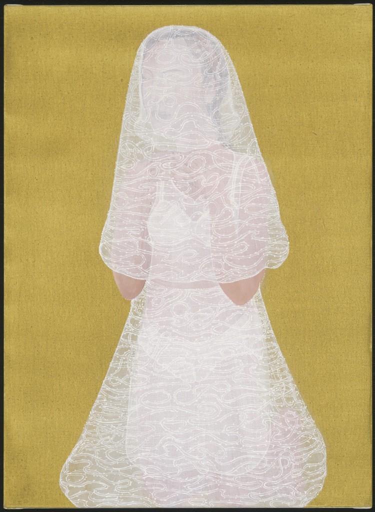 10. JPM, Mijn zesde versluiering, 2017, olieverf op linnen, 75 x 55 cm.