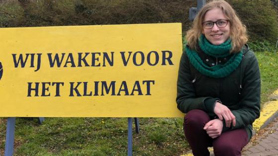 Rozemarijn van 't Einde, initiatiefnemer Klimaatwake