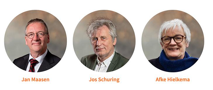 Sprekers Humanistische Uitvaartbegeleiding Jan Maasen Jos Schuring Afke Hielkema