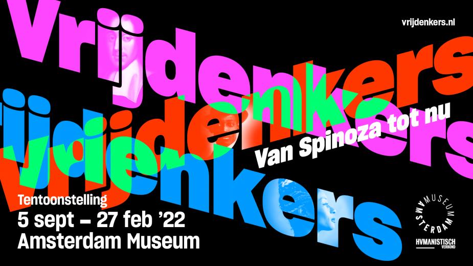 tentoonstelling vrijdenkers Amsterdam Museum beeld