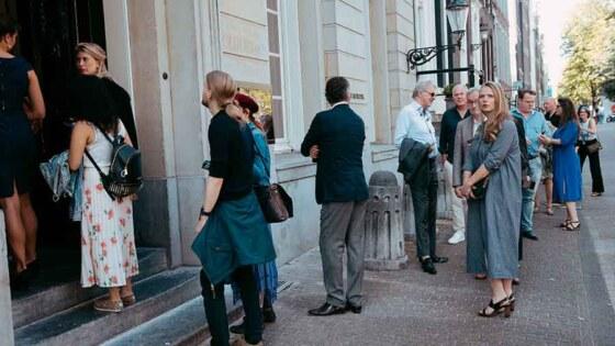 Opening tentoonstelling en jubileumviering bij Felix Meritis