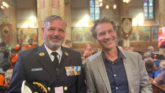 Foto van Robbert Bodegraven en Erwin Kamp