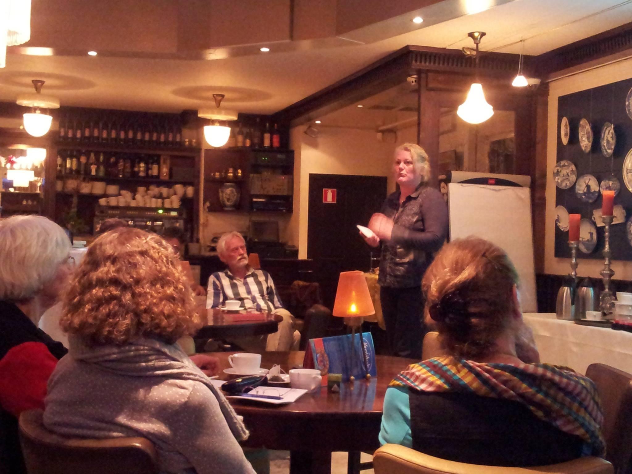 Humanistisch Café: Filosofe Saskia van der Werff over Ubuntu, Afrikaans humanisme