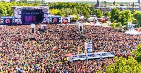 Bevrijdingsfestival: ProtestEerbetoon