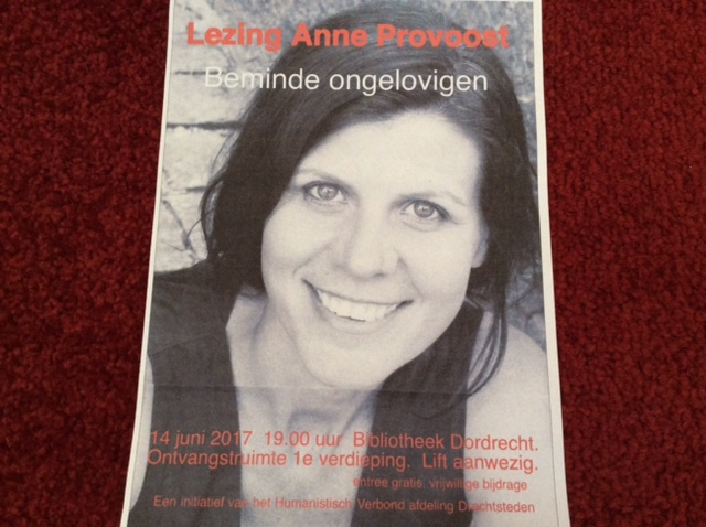 Lezing Anne Provoost