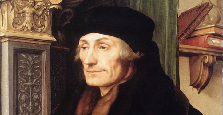 Erasmus, de uitvinder van de ironie