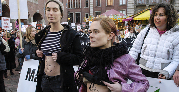 Overheid geeft anti-abortuslobby ruim baan