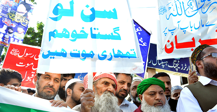 Pakistan opent heksenjacht op vrijdenkers