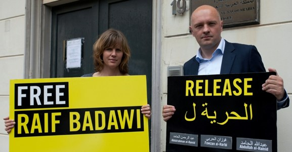 Samen met Amnesty pal voor Badawi