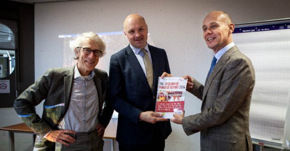 Humanistisch Verbond presenteert Freedom of Thought rapport 2016