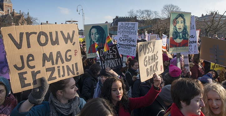 Humanisten staan pal voor vrouwenrechten