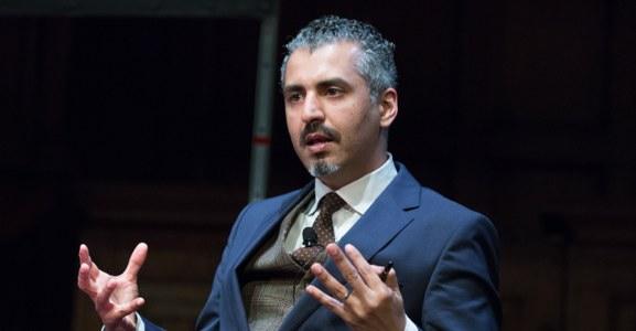 Nawaz houdt de  Vrijheidslezing over radicale islam