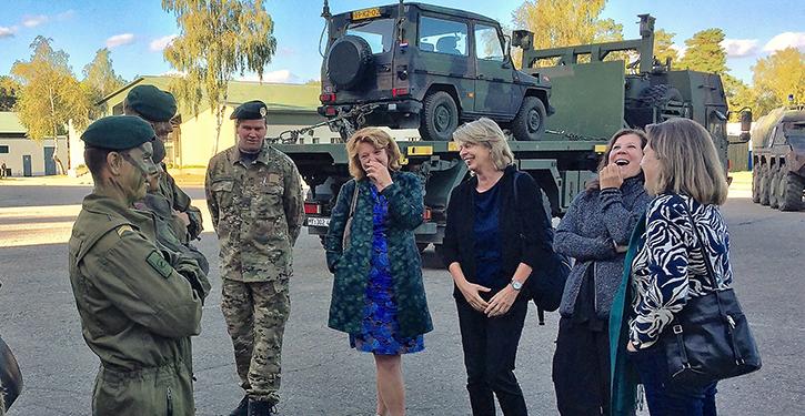 De mensen achter de missie in Litouwen