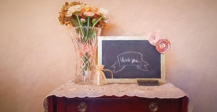 """""""Dankbaarheid vraagt niets terug"""